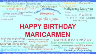 MariCarmen   Languages Idiomas - Happy Birthday