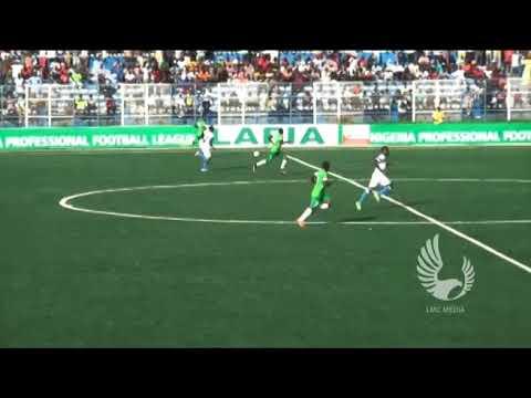 NASARAWA UNITED VS ENYIMBA INT'L -  MD24 Highlight