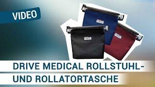 Produktvideo zu Einkaufs-Tasche Drive Medical für Rollstühle und Rollatoren Schwarz