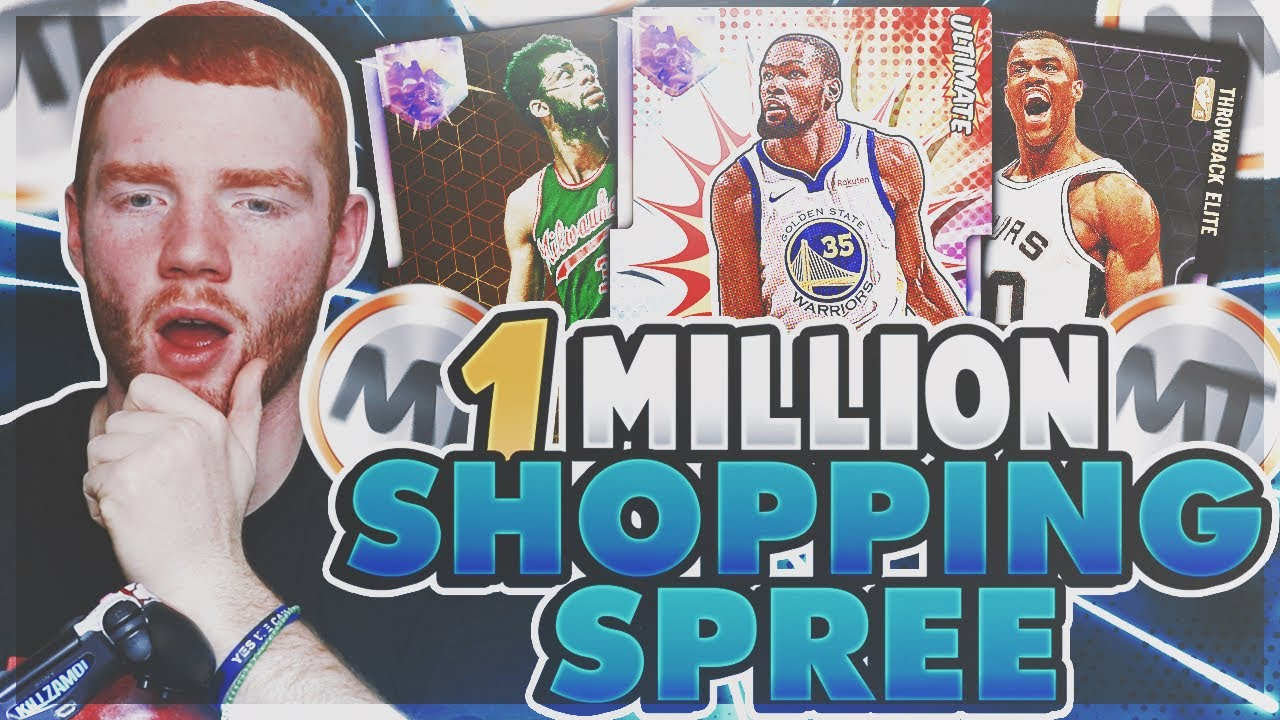 I BOUGHT 20+ GALAXY OPALS FOR A 1 MILLION MT SHOPPING SPREE!! HUGE MARKET  CRASH! (NBA 2K19 MYTEAM)