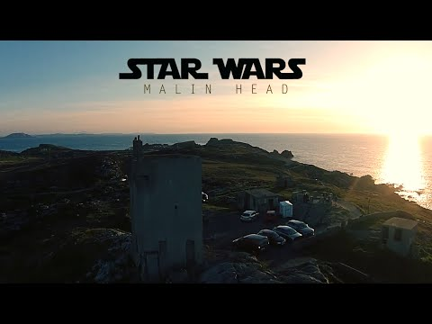 STAR WARS EPISODE VIII - MALIN HEAD 2016