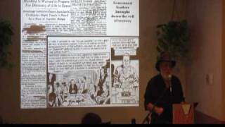 9/17 Jim Marrs Speaks on UFOs at Brave New Books 3/21/2009