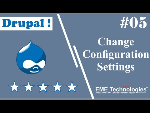 How to Change Configuration Settings in Drupal thumbnail