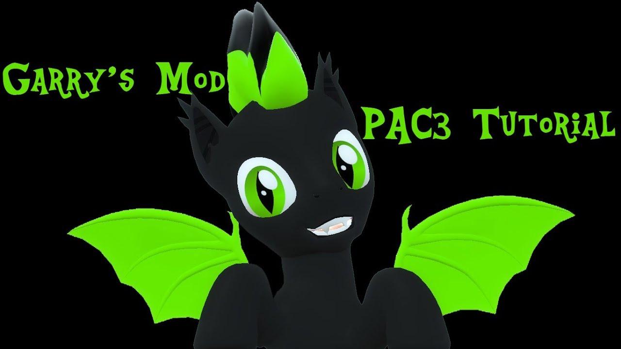 Garry's Mod PAC3: Pony Playermodel - Easy Idle Animation