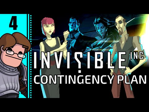 Let's Play Invisible, Inc. Contingency Plan Part 4 - Detention Center