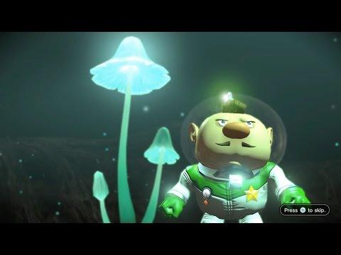 Pikmin 3 (No Deaths) - Part #01: Crash Landing (Day 1)