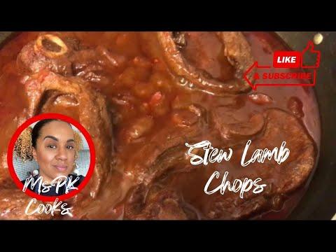 Stewed Lamb Chops