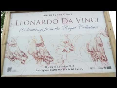The Royal Collection Trust -   10 Leonardo Drawings at Nottingham Castle