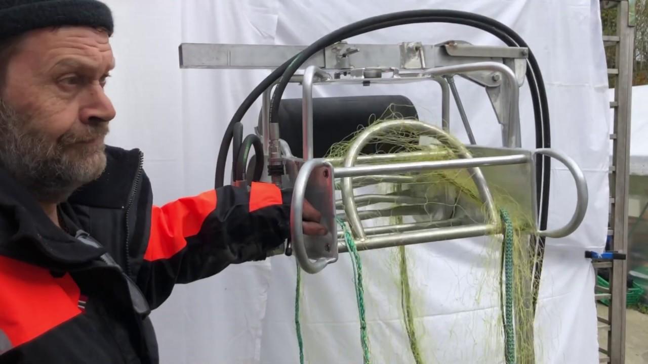 Testing av Hyra Minigarngreier 400® prototype. Del 3/3