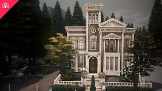 Glimmerbrook Library | The Sims 4: Speed Build
