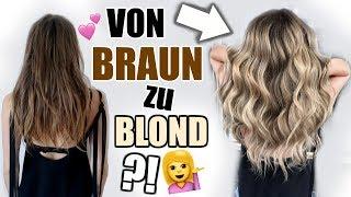Große Veränderung! Braun zu Blond! Kommt mit zum Friseur! ♡ BarbaraSofie