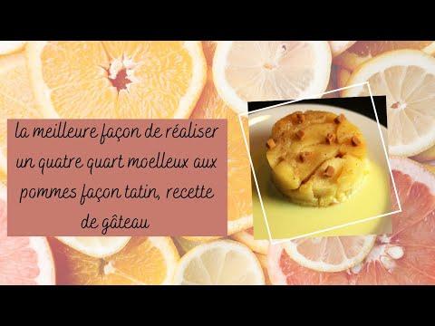 la-meilleure-façon-de-réaliser-un-quatre-quart-moelleux-aux-pommes-façon-tatin,-recette-de-gâteau