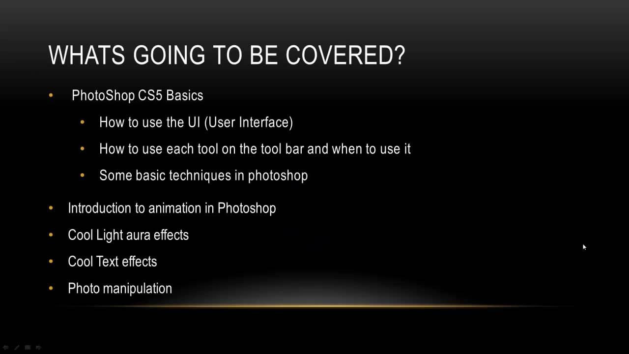 Dev Tut Series 1 Photoshop basics Overview