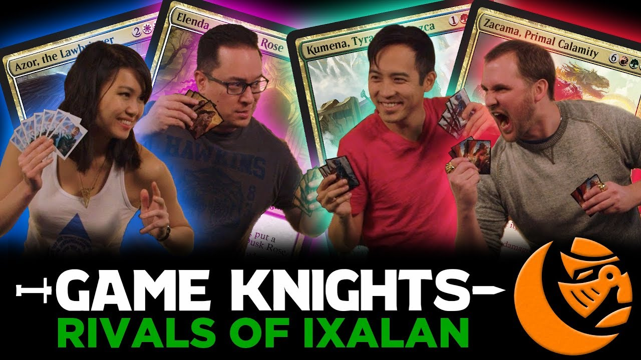 New Legends From Rivals Of Ixalan Game Knights 14 L Magic The Gathering Gameplay Commander Edh