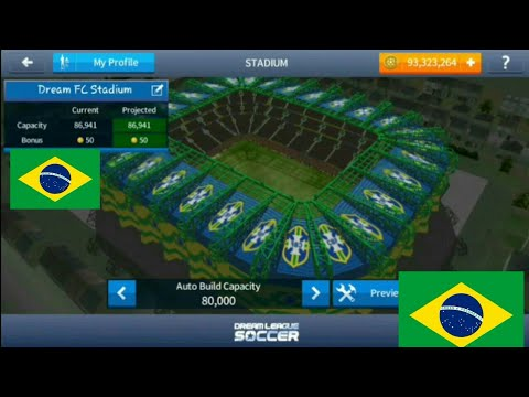 How To Make Brazil Stadium In Dream league Soccer