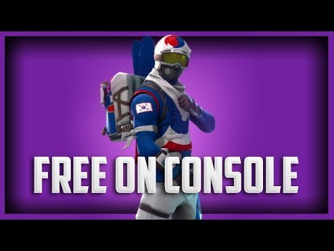 *XBOX* Fortnite 🆓 Korean Alpine Ace Skin + 300 V-Bucks For FREE! - How To On Console 🆓 Latest Patch