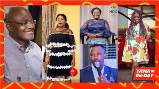 YawaOf The Day: Kennedy Agyapong Exposęs Prof. Jane, Tracey Boakye, Mzbel and Nigel Gaisie