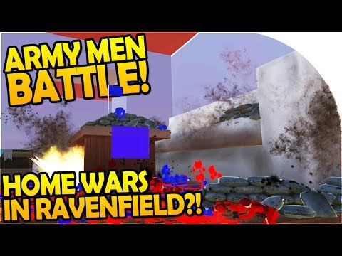 ARMY MEN BATTLE SIMULATOR in RAVENFIELD?! - The GREAT TOY SOLDIER WAR - Ravenfield NEW MAP Gameplay