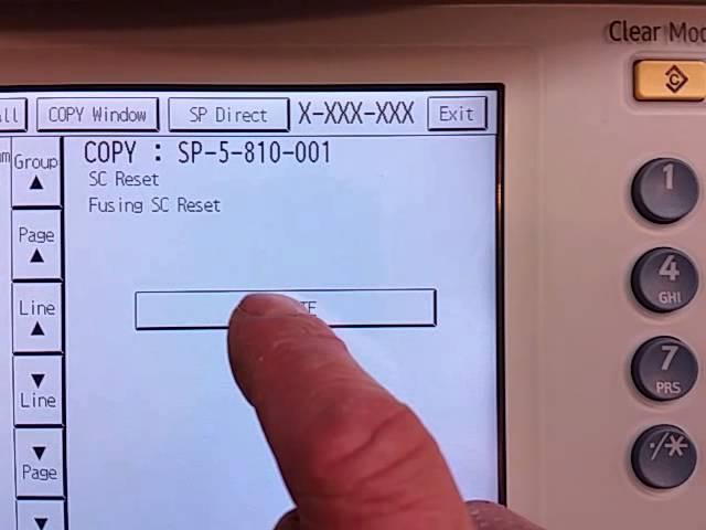 Ricoh SC codes - YouTube