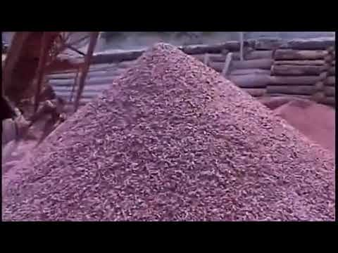 mineral jigs set up for 95% recovery of barite from ore