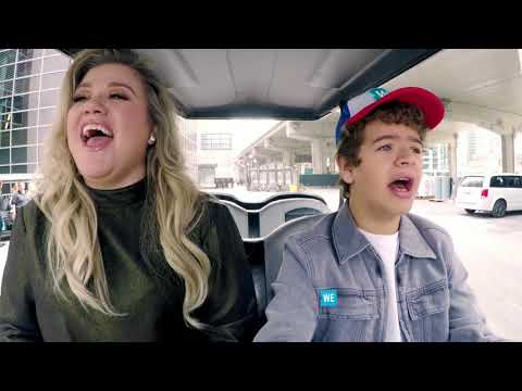 'Stranger Things' star Gaten Matarazzo sings with Kelly Clarkson — and sounds amazing