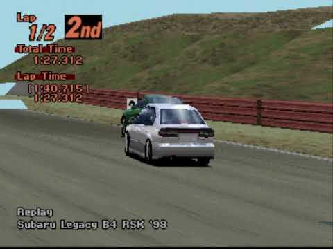Gran Turismo 2 Arcade - Laguna Seca Raceway