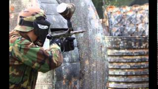 Bledsoe County Legacy Paintball team at Players Club Paintball In Knoxville, TN