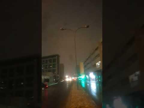 Doha qatar very fast raining