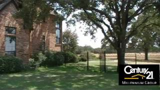 Terrell Texas Luxury Ranch For Sale - 25 +/- Acres with a pond, shop, and DREAM HOME