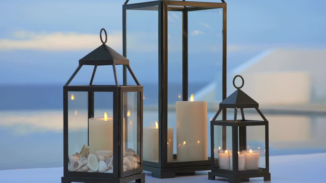 Lovely Summer Outdoor Decor With Lanterns | Pottery Barn   YouTube
