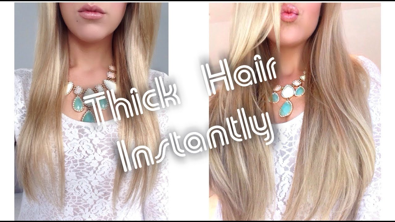 Thick Hair Instantly Foxy Locks Superior 230g Extensions How To