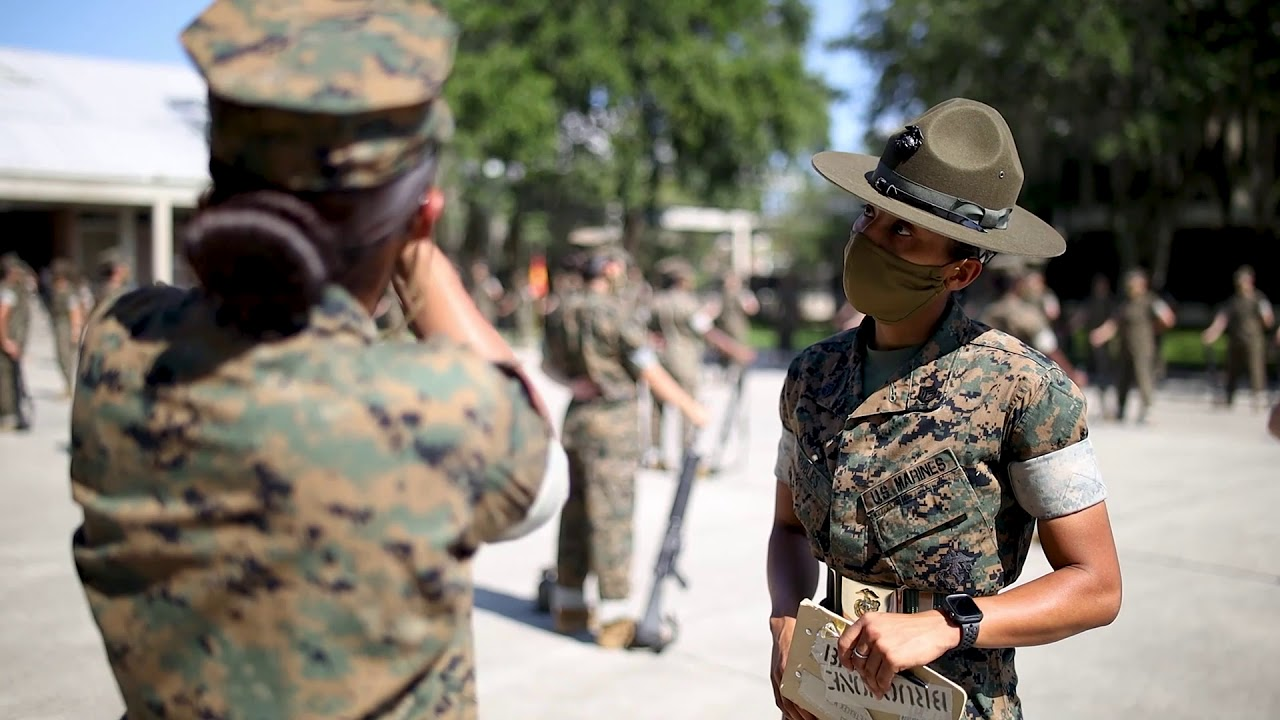 U.S Marines • Commander Inspection • Marine Corps Recruit Depot Parris Island • July 11, 2020