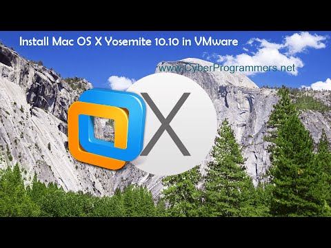 How To Install Mac OS X Yosemite 10.10 On VMware Player/Workstation