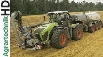 CLAAS XERION 4000 Traktor | Güllebomber | Kaweco Tridem Güllefass | AgrartechnikHD
