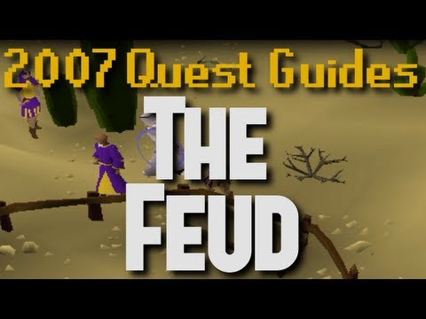 Runescape 2007 Quest Guides: The Feud