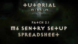 guide diablo 3 ros demon hunter marauder 6 set sentry build dps spreadsheet tutorial patch 2 1