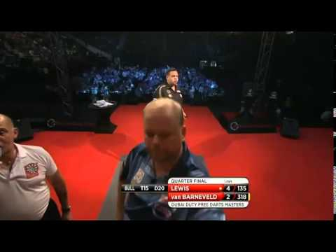 PDC World Series 2014 - Dubai Duty Free Darts 2014 - Quarter Final - van Barneveld VS Lewis