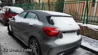 Neve a Livorno e scuole chiuse 2018