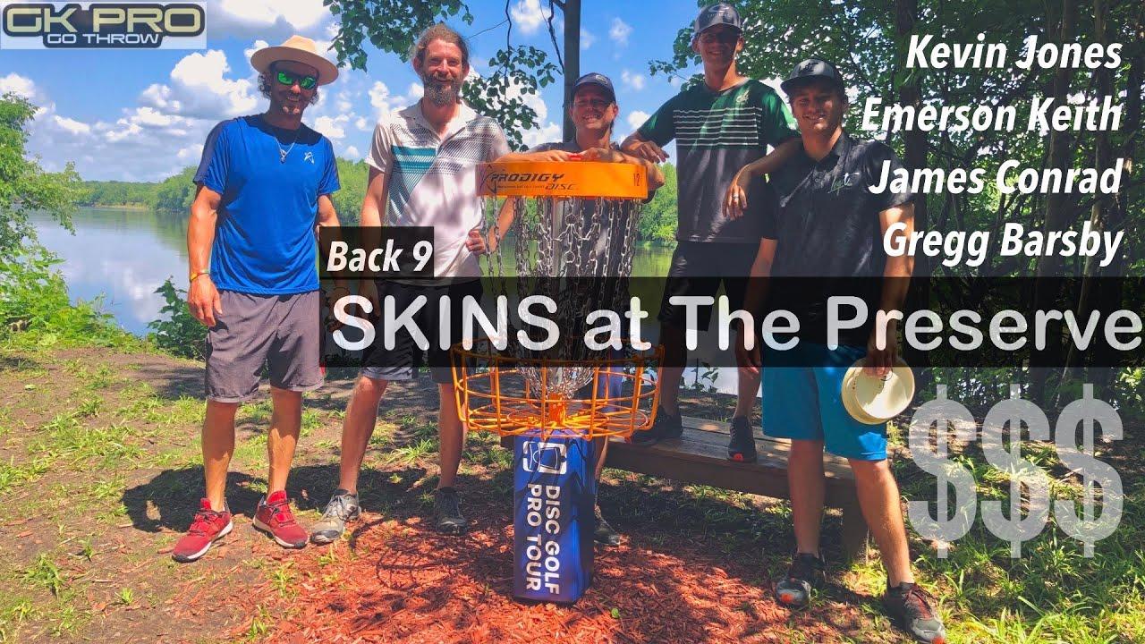 OTB Tour Series Skins #2   B9   Jones, Barsby, Keith, Conrad