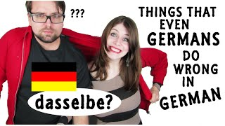 Things Even GERMANS do WRONG in GERMAN 2