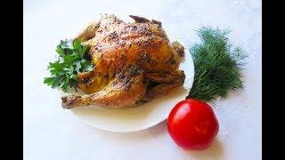 Чесночная курица на каменной соли. Вкуснее не бывает.