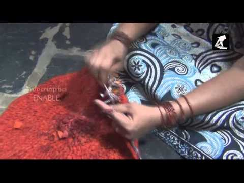 Door mates using Waste Cloth- Business Video(Telugu)