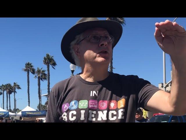 Passionate atheist rebukes Ray Comfort