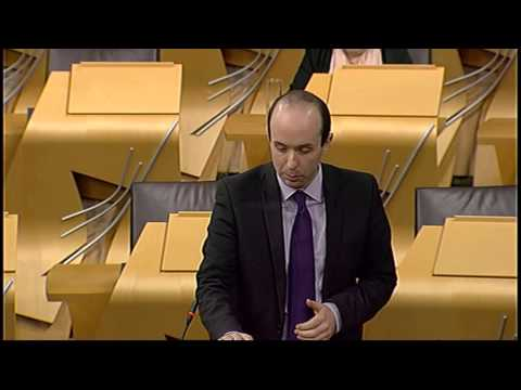 Plenary Session - Scottish Parliament: 30th January 2014