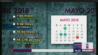 Calendario Escolar || Noticias con Juan Carlos Valerio