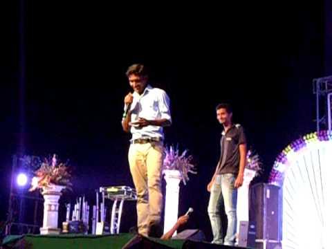 anchoring  5 by  baba  at BIET,BHADRAKH GAVISUS 2013