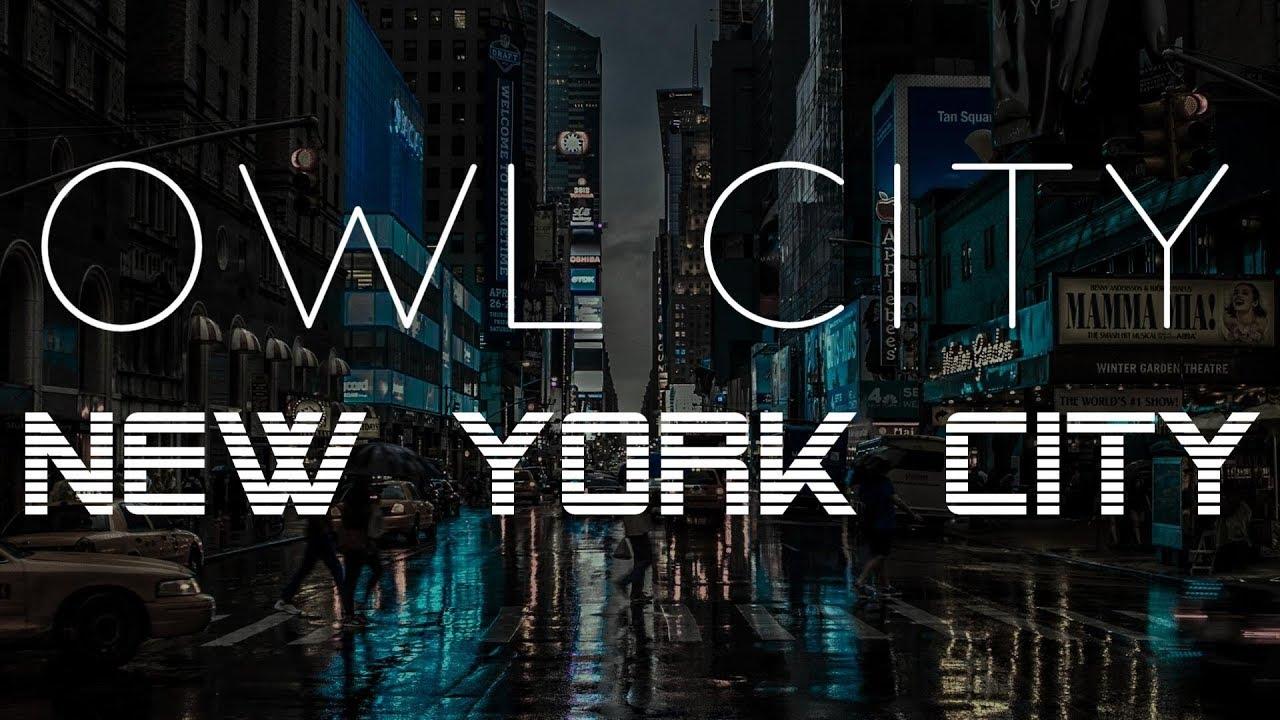 Owl City | New York City - Lyric Video