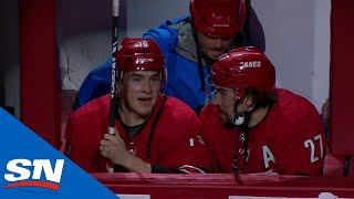 Hurricanes Go 'Duck Hunting' For Latest Post-Game Celebration