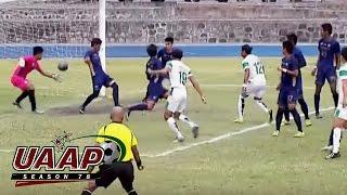 uaap 78 football dlsu vs nu game highlights
