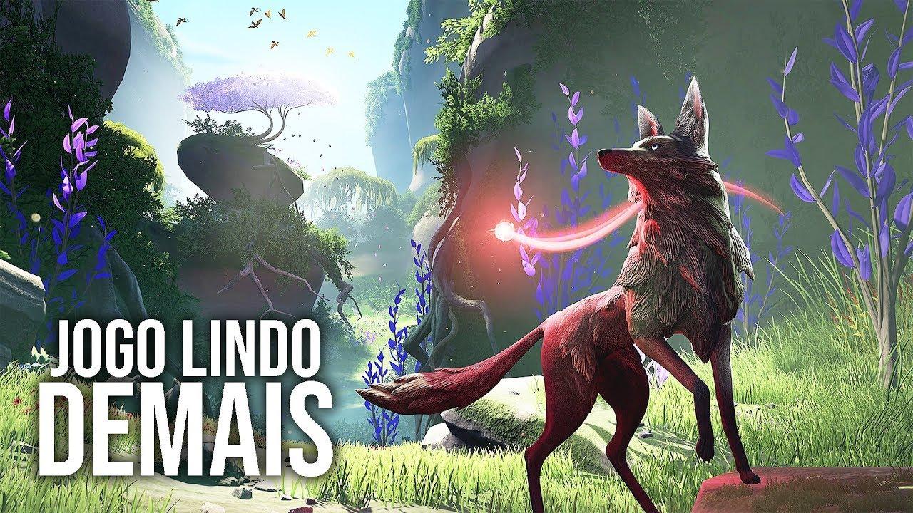 Estreando o ESTÚDIO NOVO com um JOGO LINDO!!! | Lost Ember Gameplay em Português PT-BR